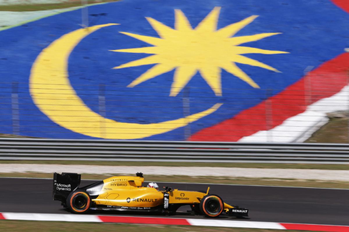 ルノー F1 マレーシア 速報