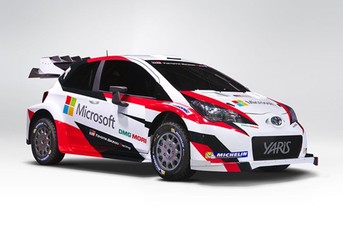 トヨタ WRC マイクロソフト