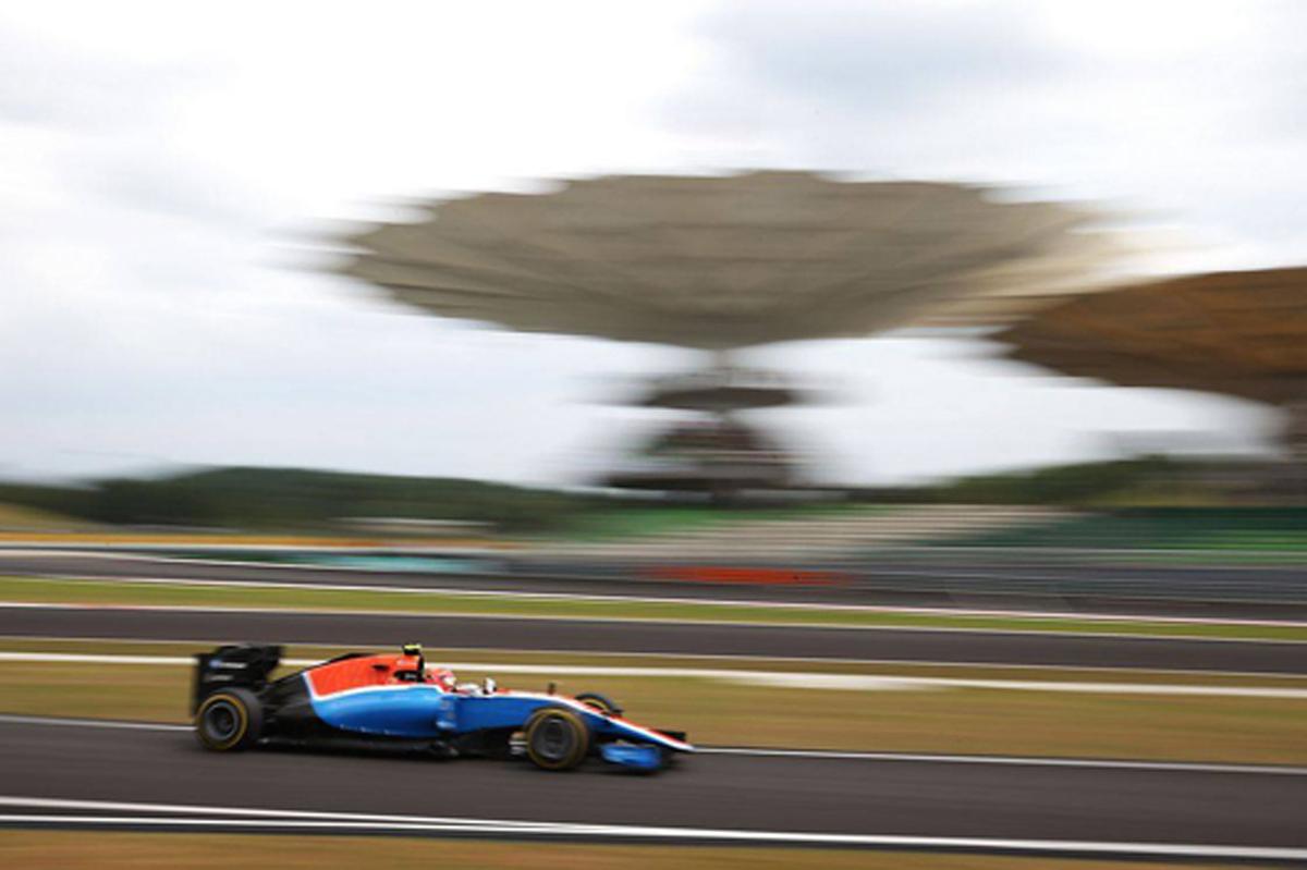 マノー F1 マレーシア 予選