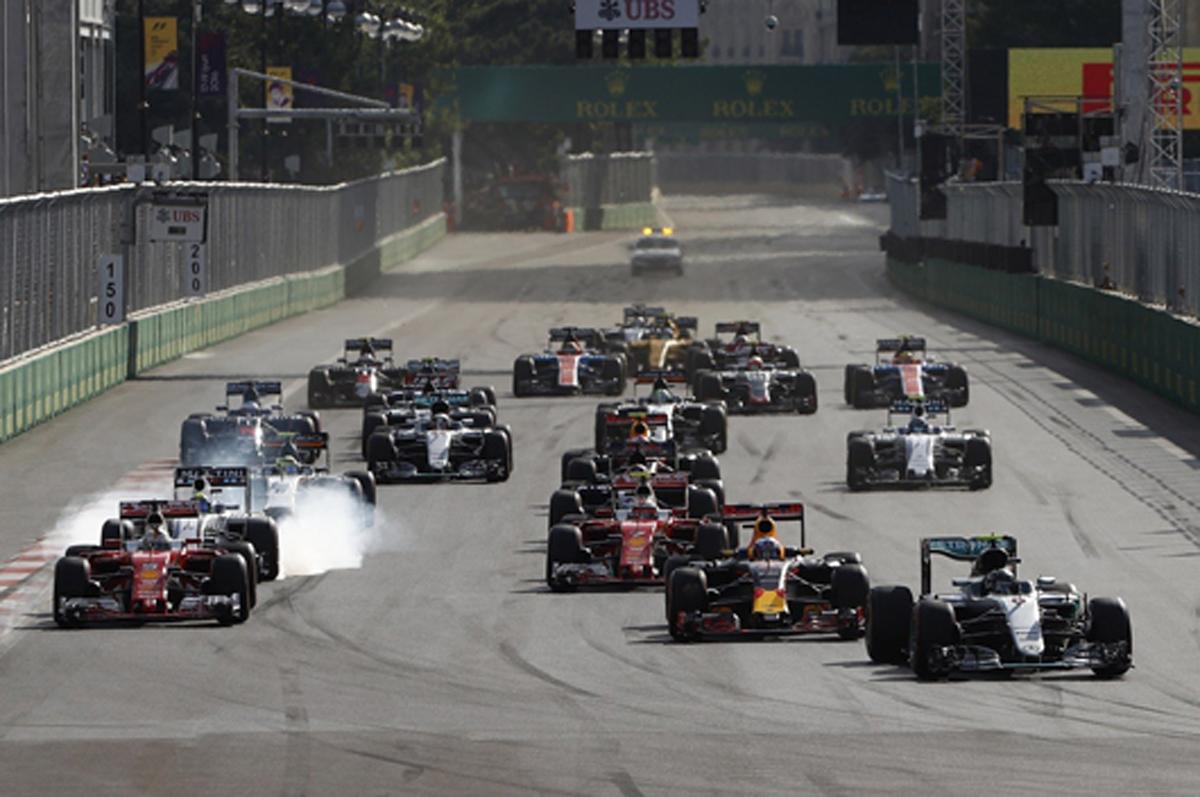 F1 アゼルバイジャンGP バクー