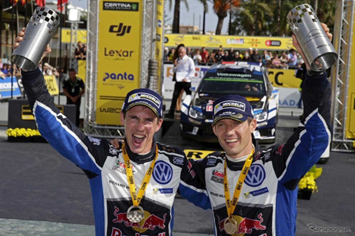 セバスチャン・オジェ WRC 4連覇