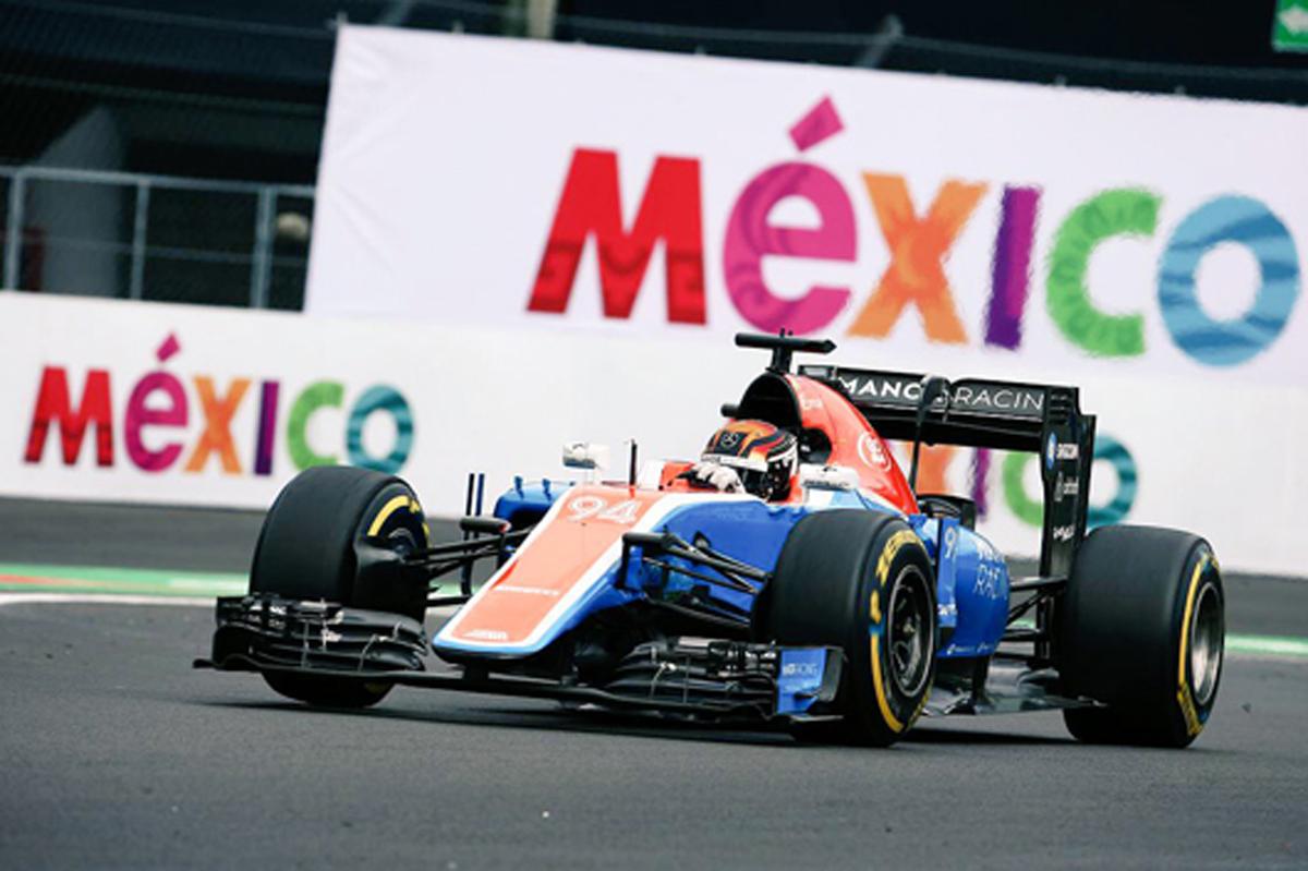 マノー F1メキシコGP