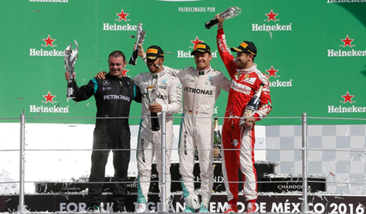2016 F1 メキシコ 決勝