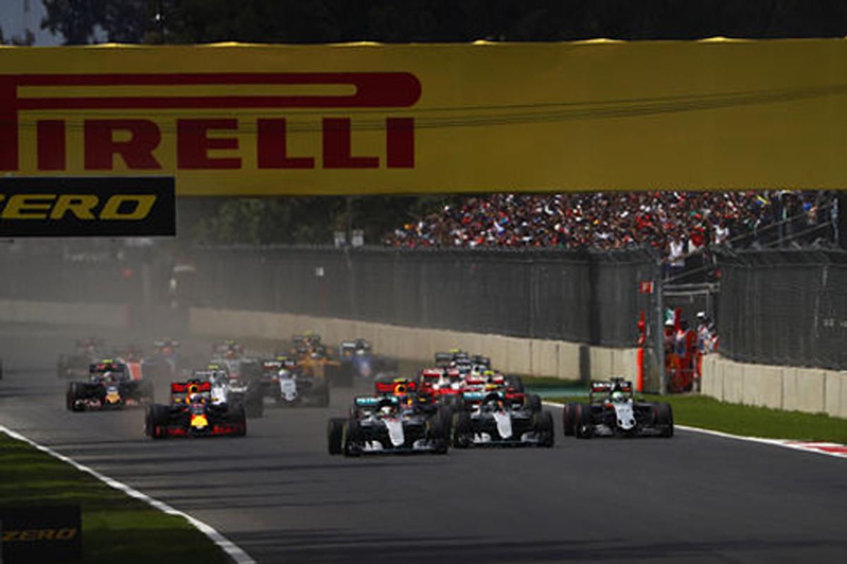 F1 速報 メキシコ 結果