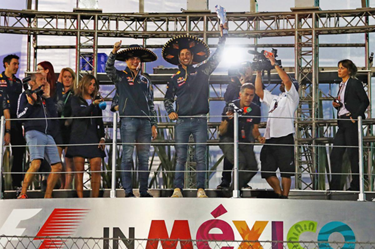 レッドブル F1 メキシコGP 結果