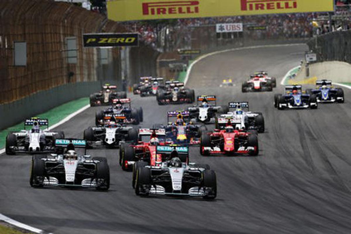 F1 ブラジル 日程 TV 放映