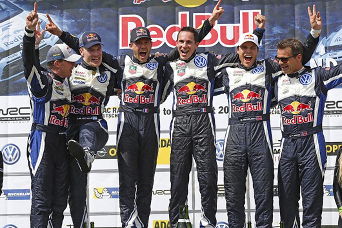 トヨタ WRC ドライバー