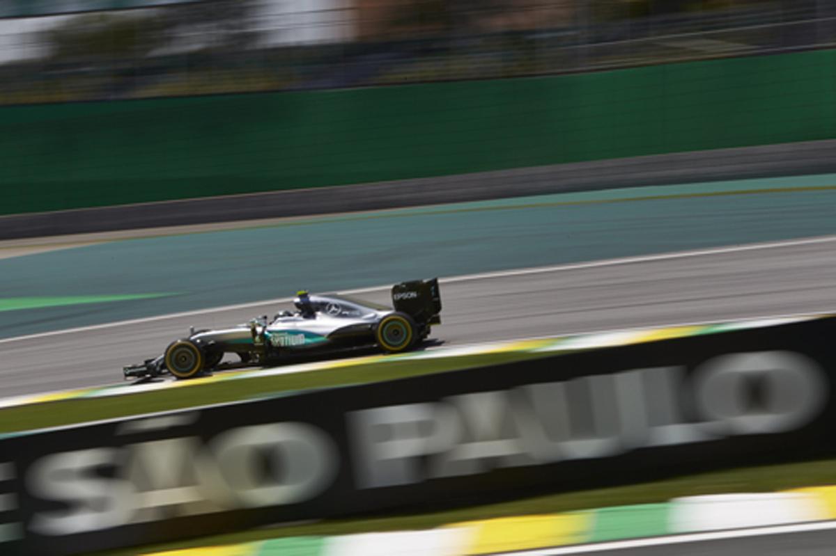 F1 速報 ブラジルGP フリー走行3回目