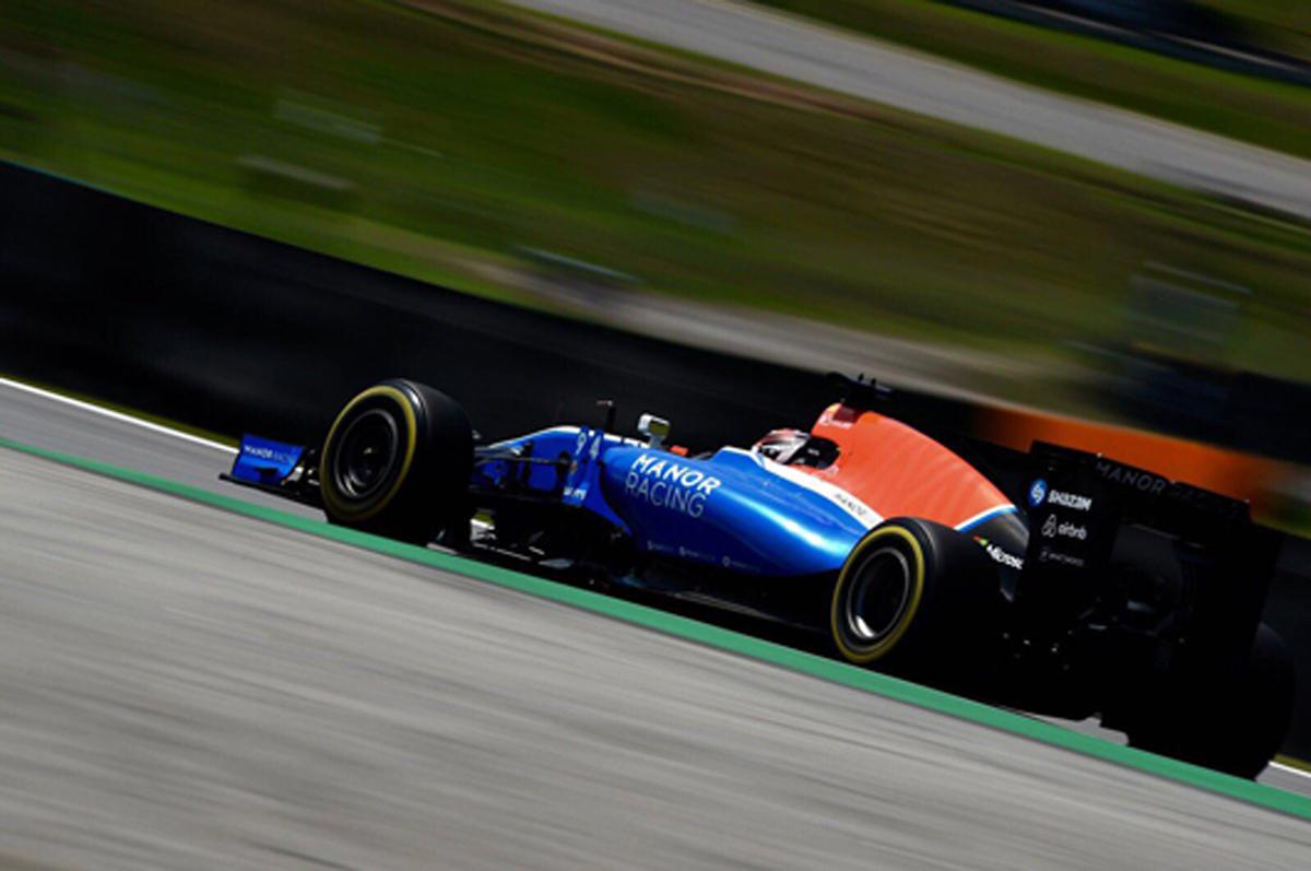 マノー F1 ブラジル