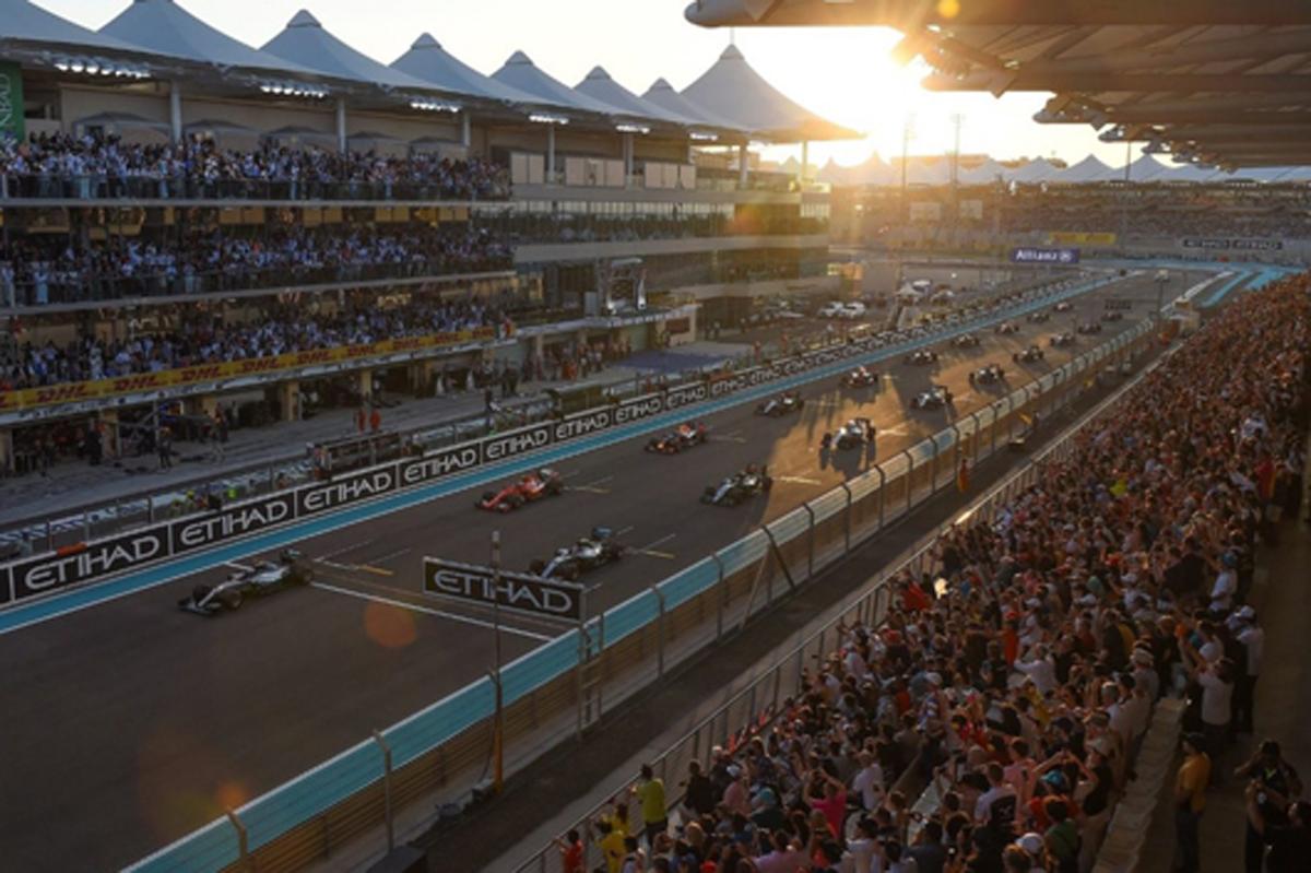 F1 アブダビ 日程 TV 放映