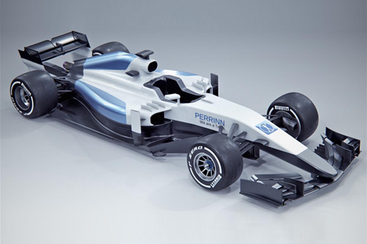 2017年 F1マシン