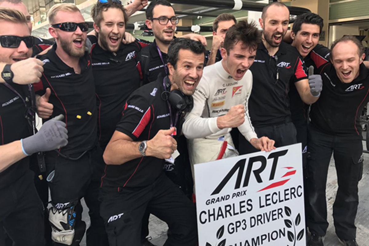 シャルル・ルクレール 2016 GP3 チャンピオン