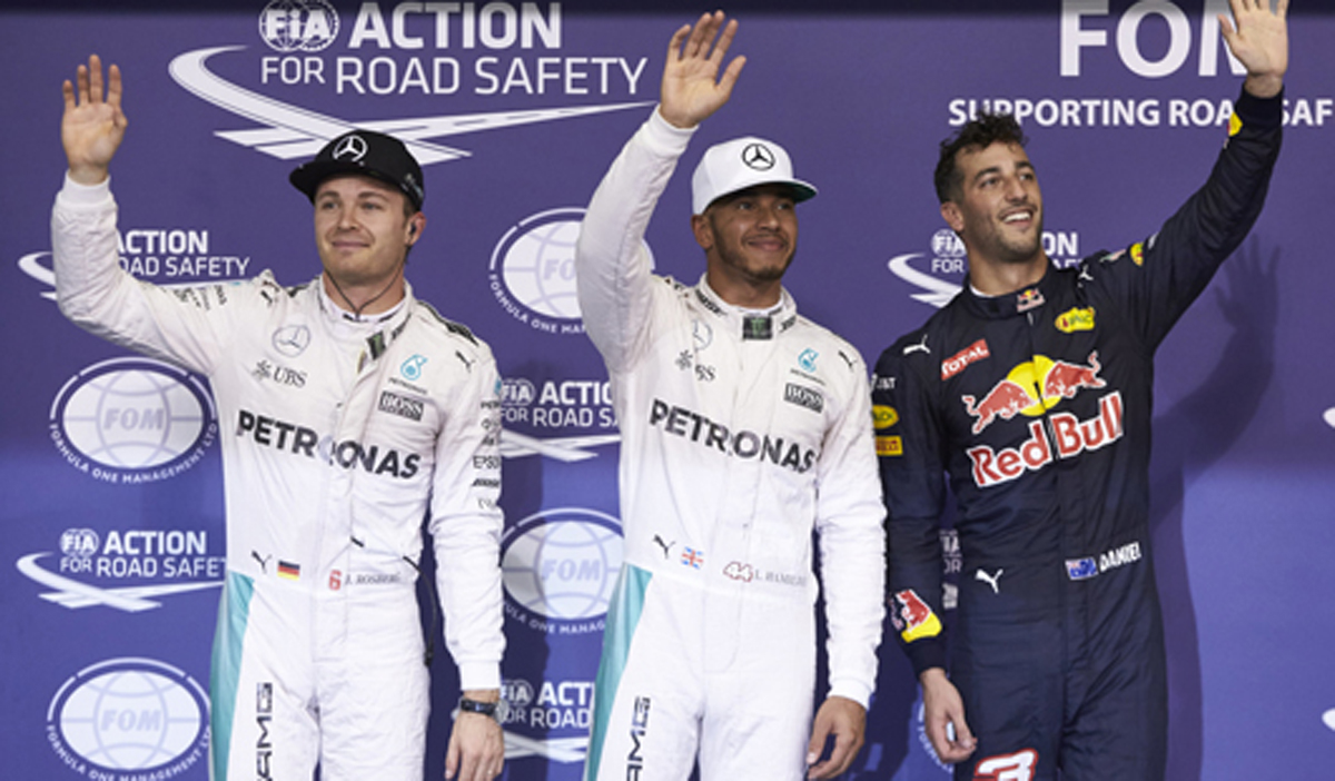 2016 F1 アブダビ 予選