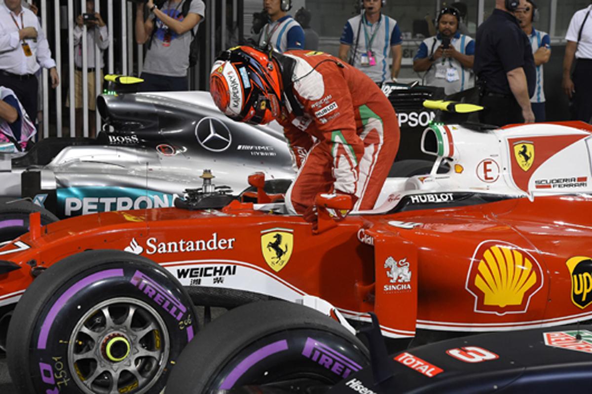 フェラーリ F1 アブダビ 予選結果
