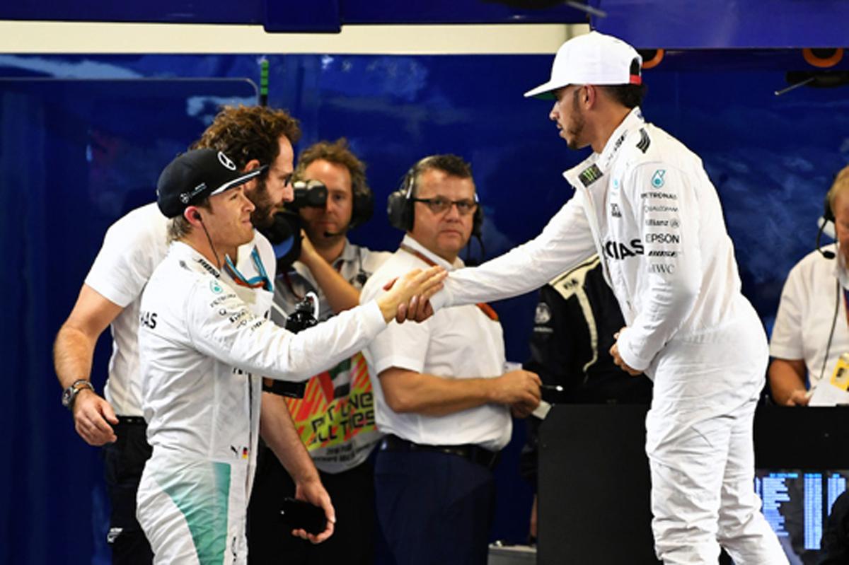 メルセデス F1 アブダビ 予選結果