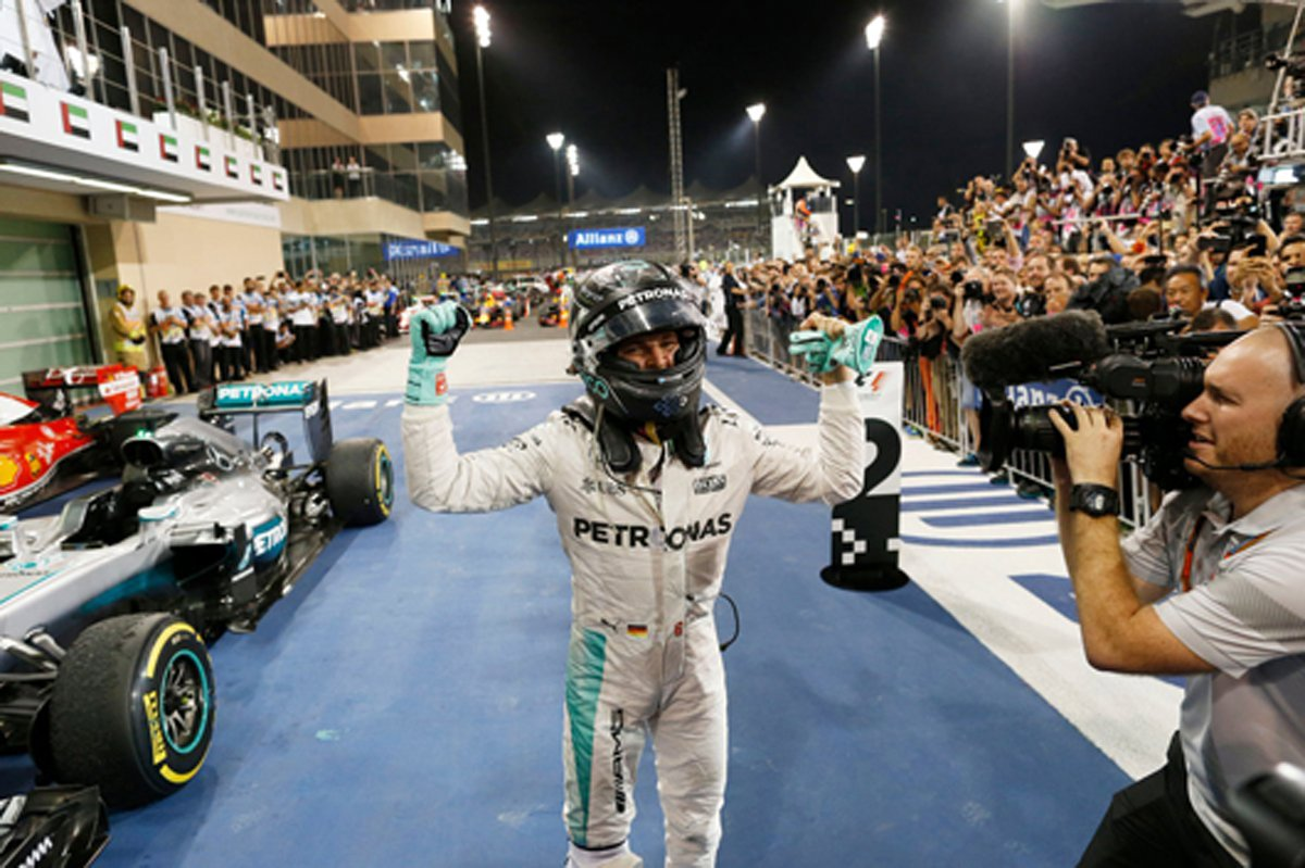 ニコ・ロズベルグ 2016 F1 ワールドチャンピオン