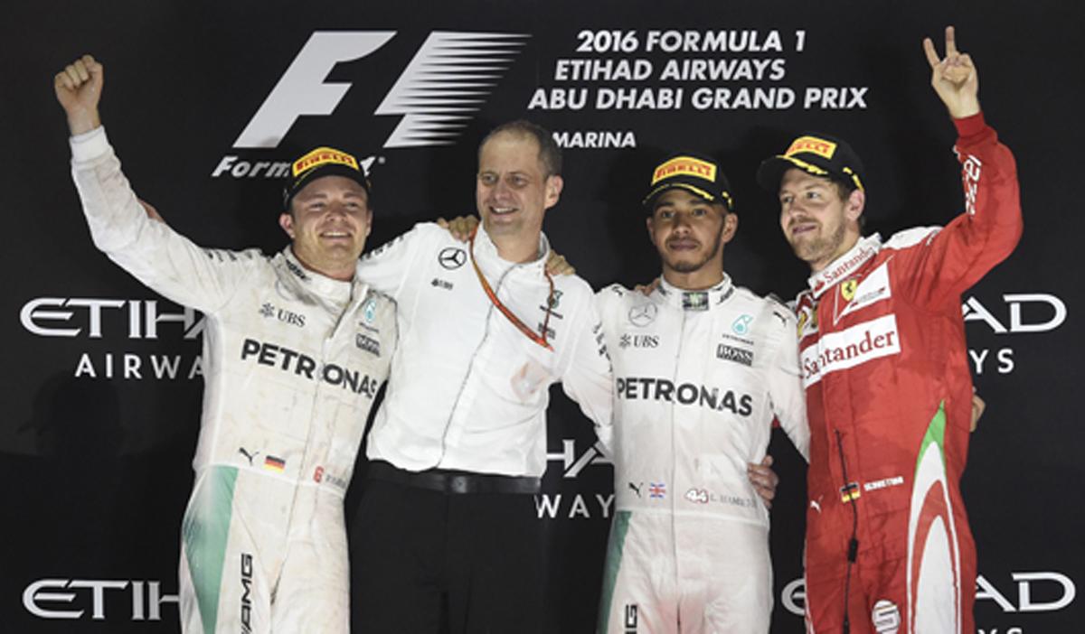 2016 F1 アブダビ 決勝