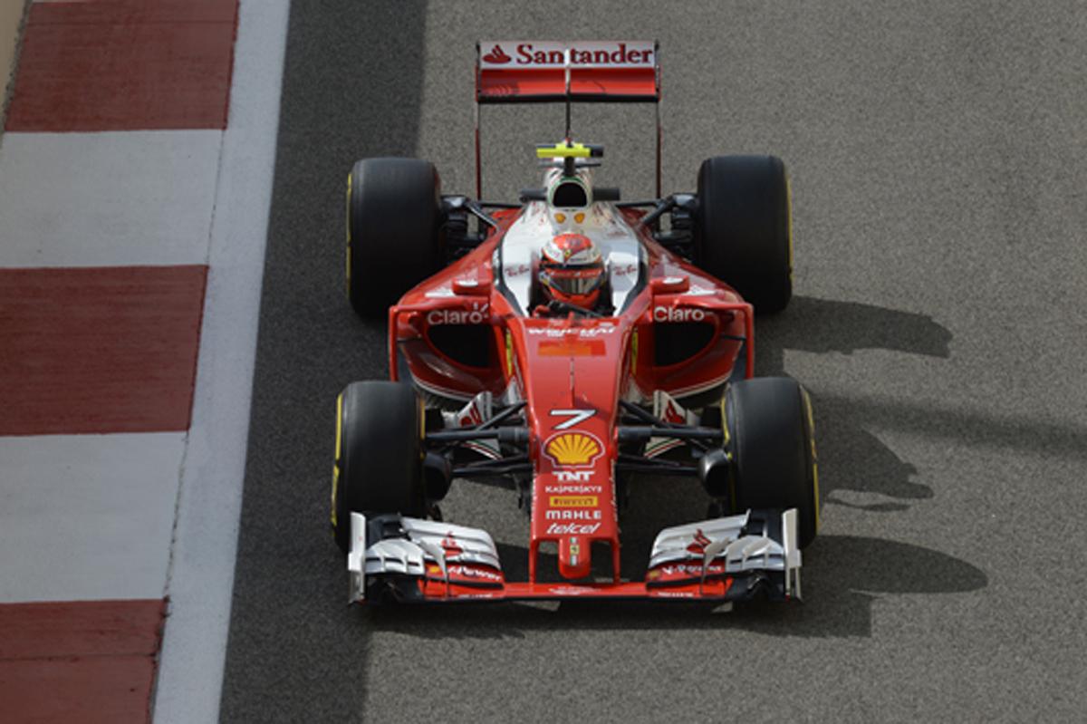 フェラーリ F1 360度カメラ