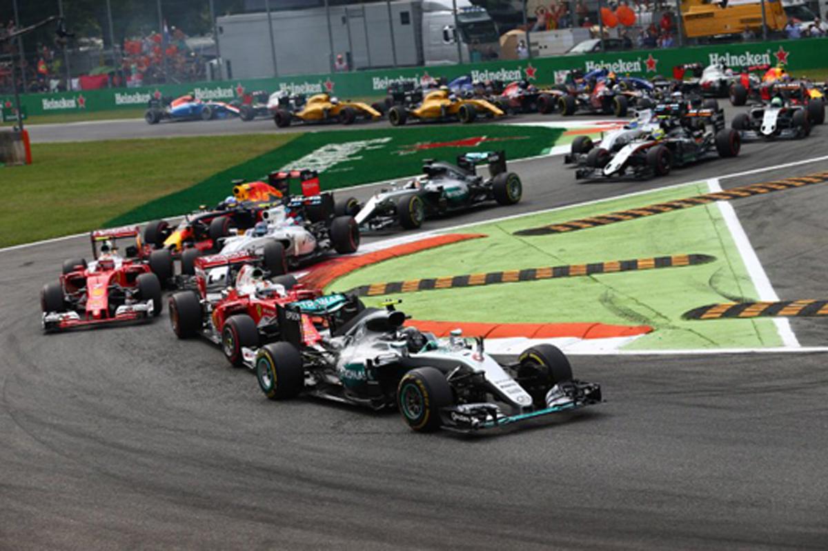 F1イタリアGP モンツァ