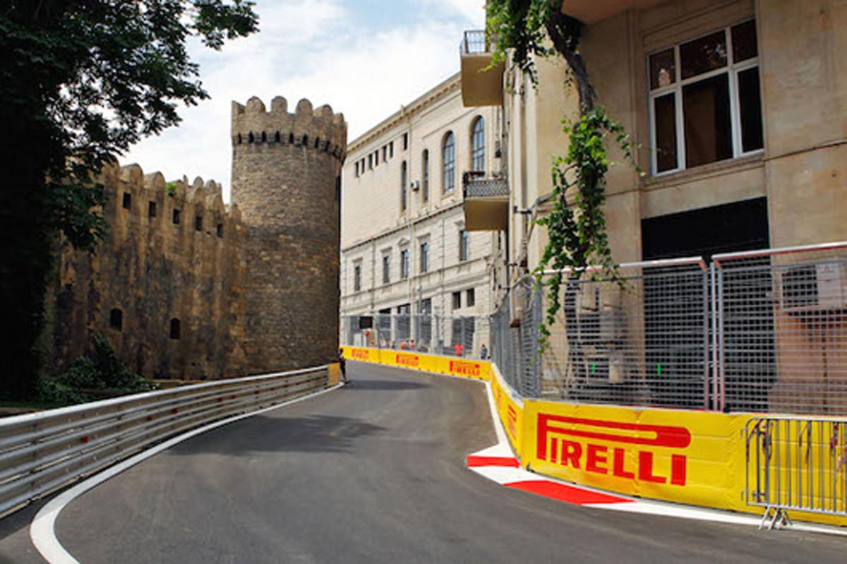 F1アゼルバイジャンGP