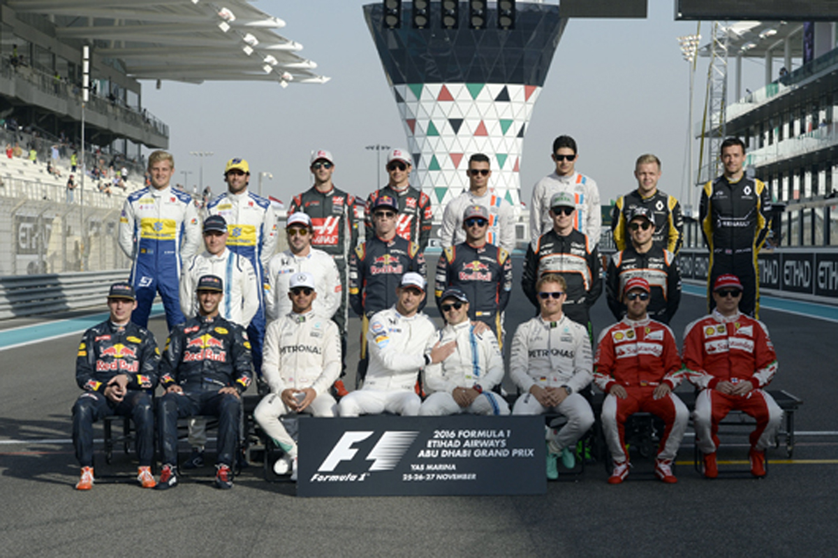 2017 F1 ドライバー