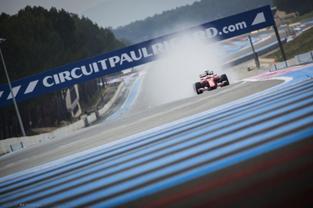 ポール・リカール 2018 F1 レイアウト