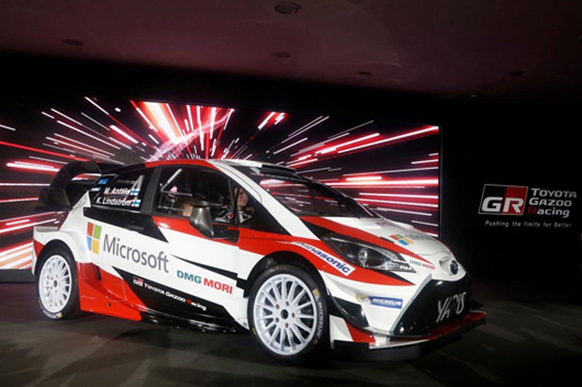 WRC 日程 2017