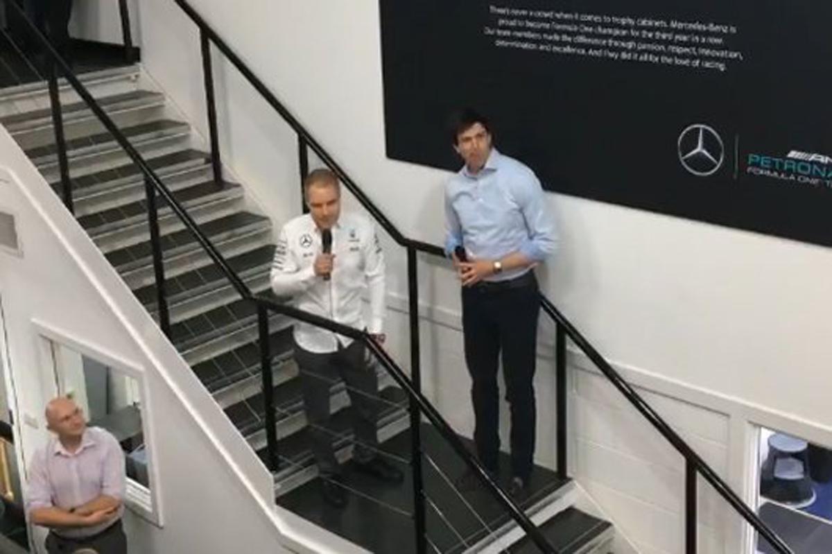 メルセデス、バルテリ・ボッタスの起用を正式発表