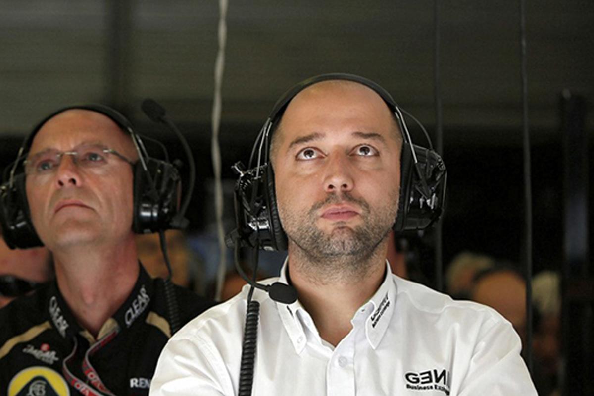 ジェラルド・ロペス ロータス F1