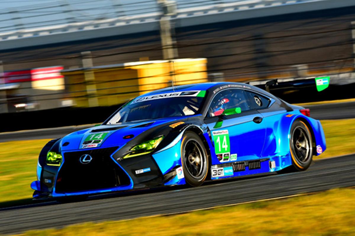 LEXUS RC F GT3 デイトナ24時間レース