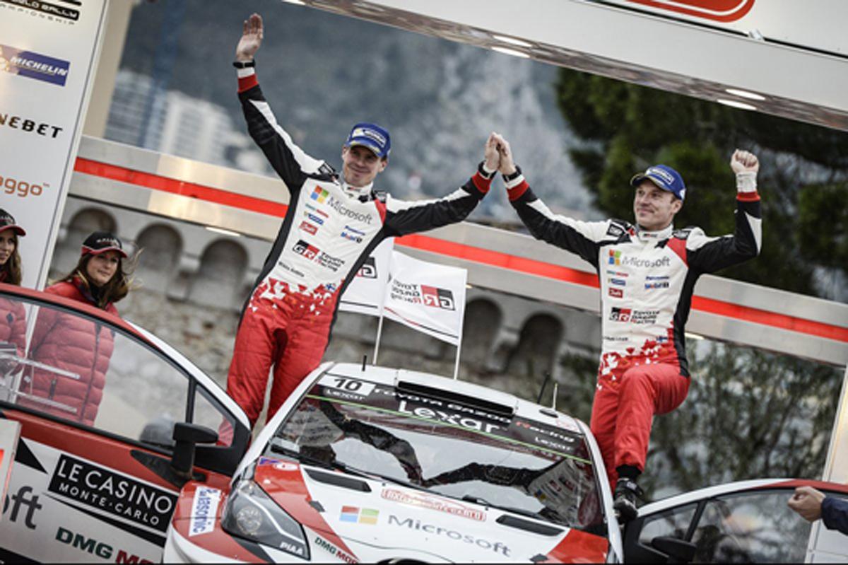 トヨタ WRC 動画