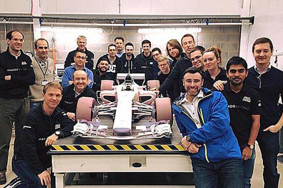 マノー、幻の2017年F1マシン『MRT06』を公開