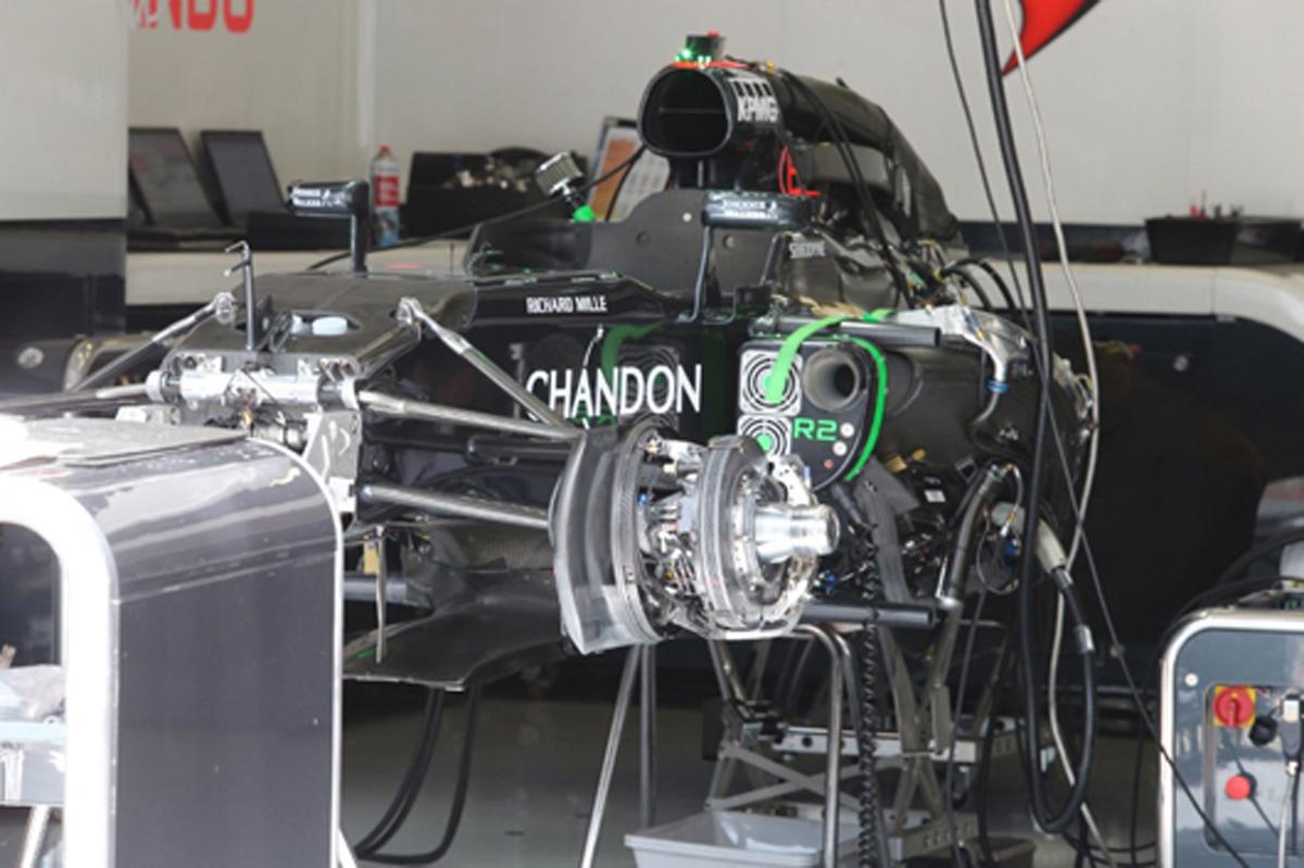マクラーレン F1 2017
