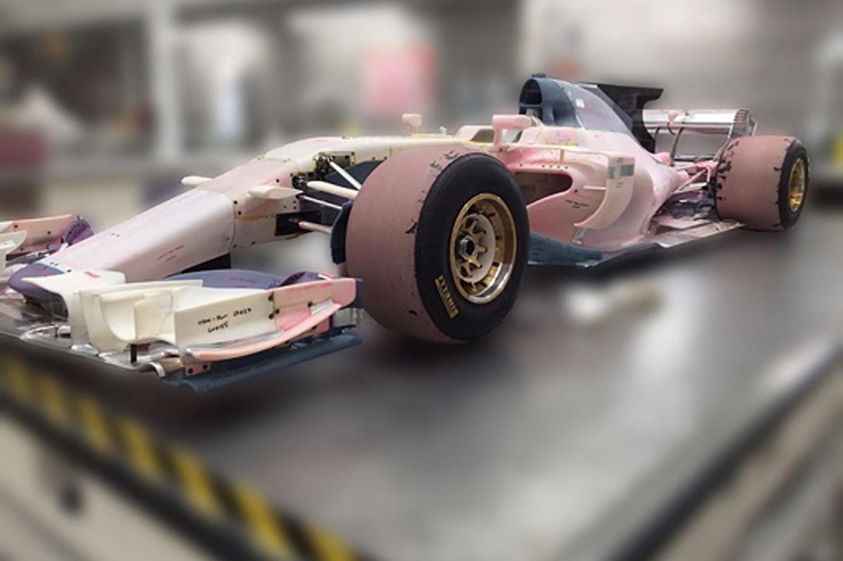 マノー MRT06 2017年F1マシン