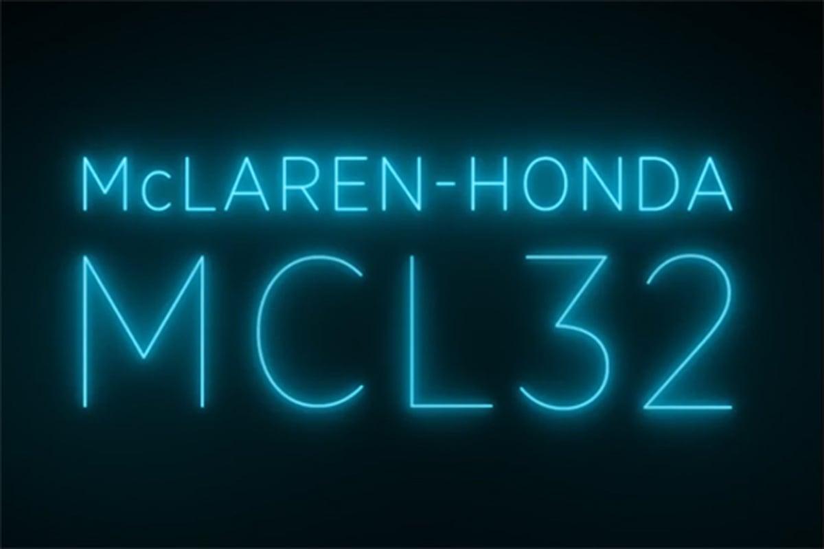 マクラーレン MCL32