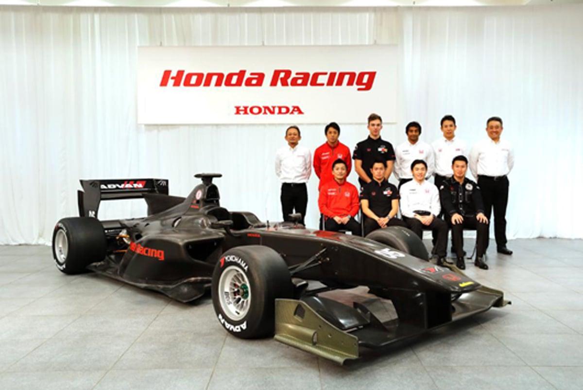 ホンダ、2017年 スーパーフォーミュラ 参戦体制を発表