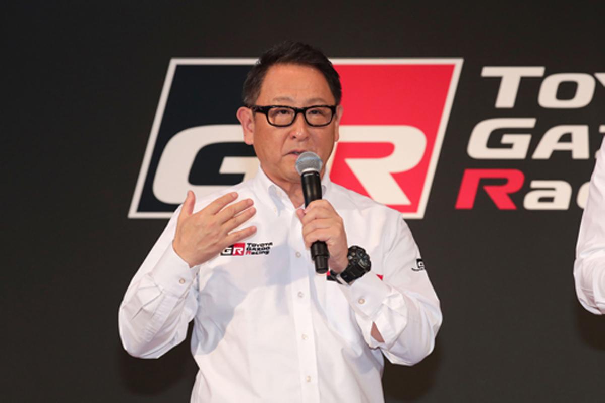 豊田章男 トヨタ WRC ラリー