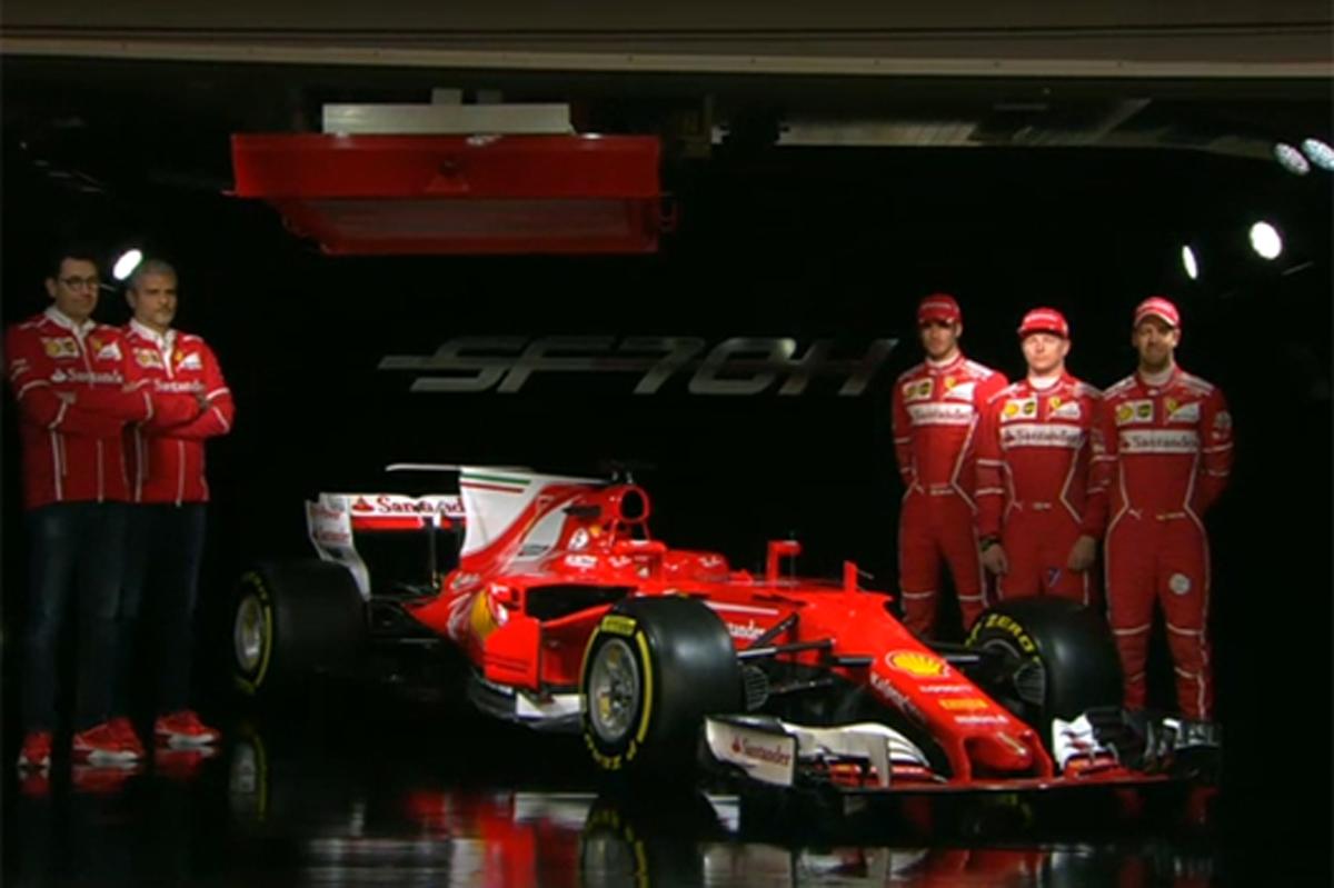 フェラーリ F1 SF70H