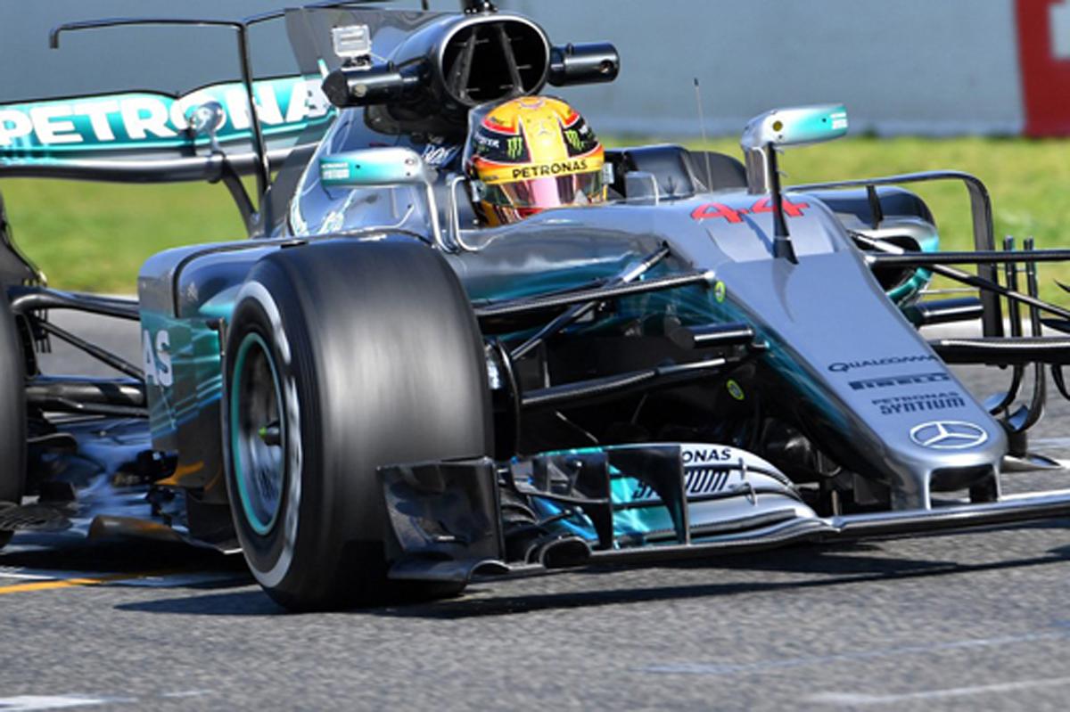 2017年 F1バルセロナテスト 初日:ルイス・ハミルトンがトップタイム