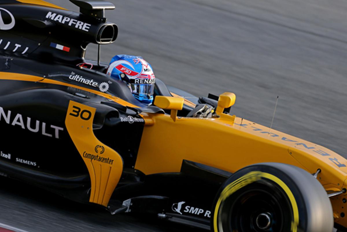 ジョリオン・パーマー F1