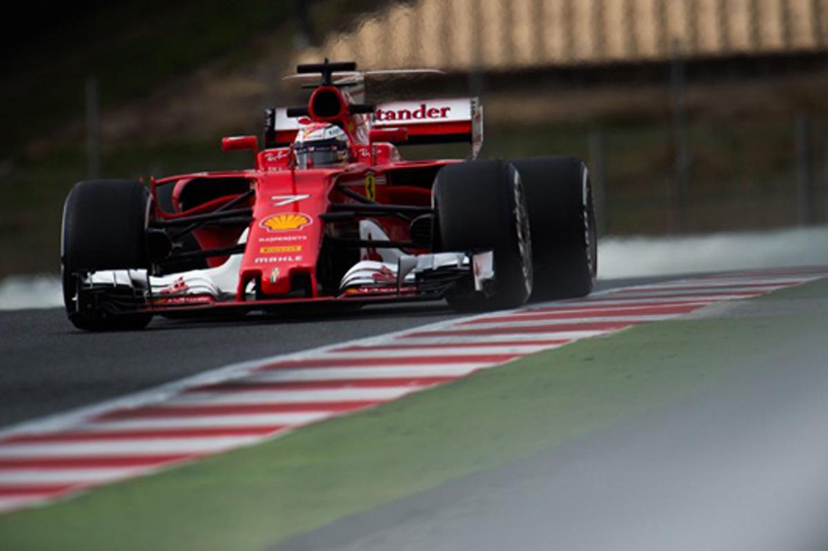 F1 バルセロナ 合同テスト