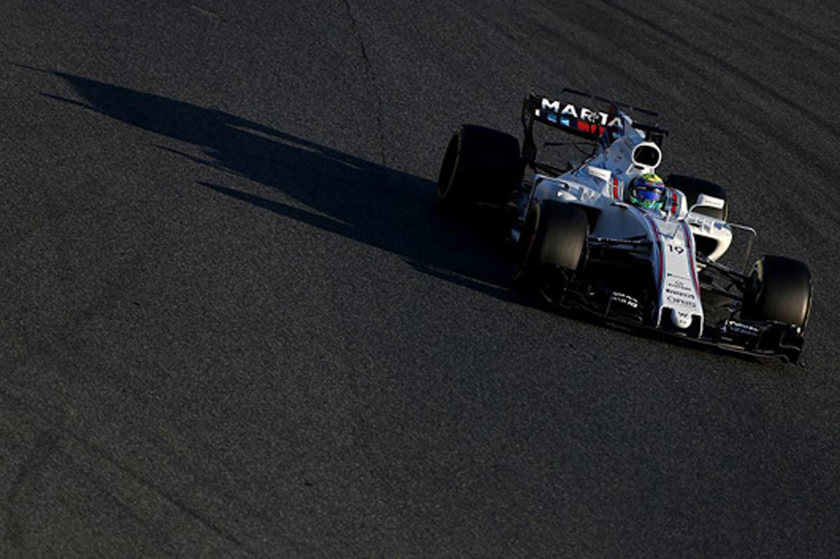 F1 第2回バルセロナテスト 初日:フェリペ・マッサがトップタイム