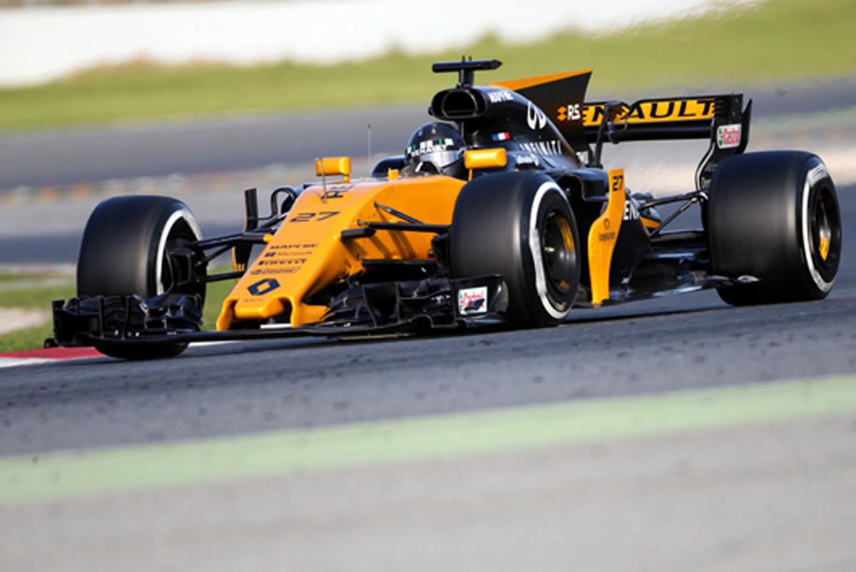 ニコ・ヒュルケンベルグ F1