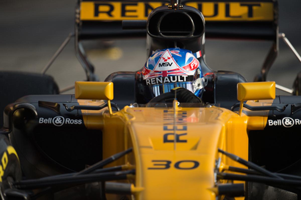 F1 ジョリオン・パーマー