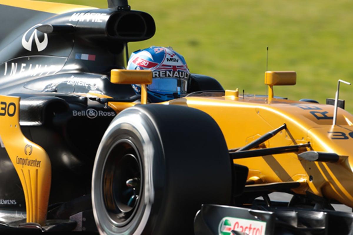 F1 バルセロナテスト ジョリオン・パーマー