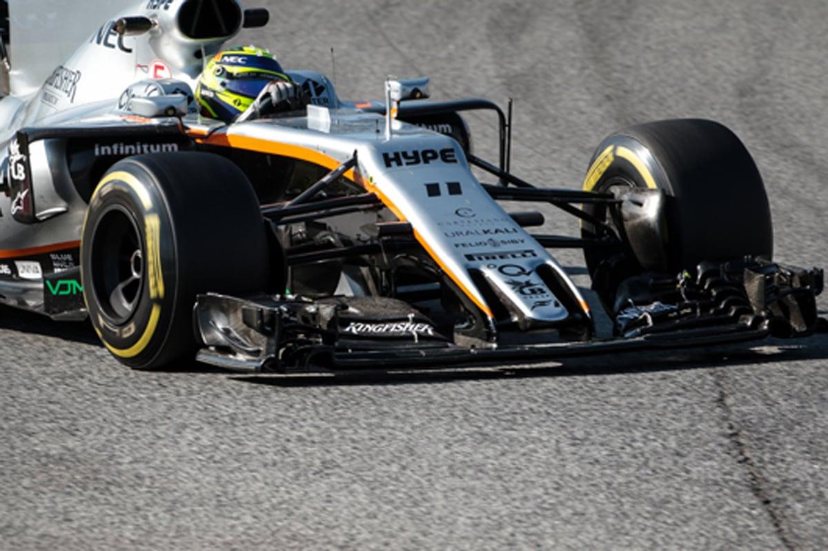 F1 バルセロナテスト セルジオ・ペレス