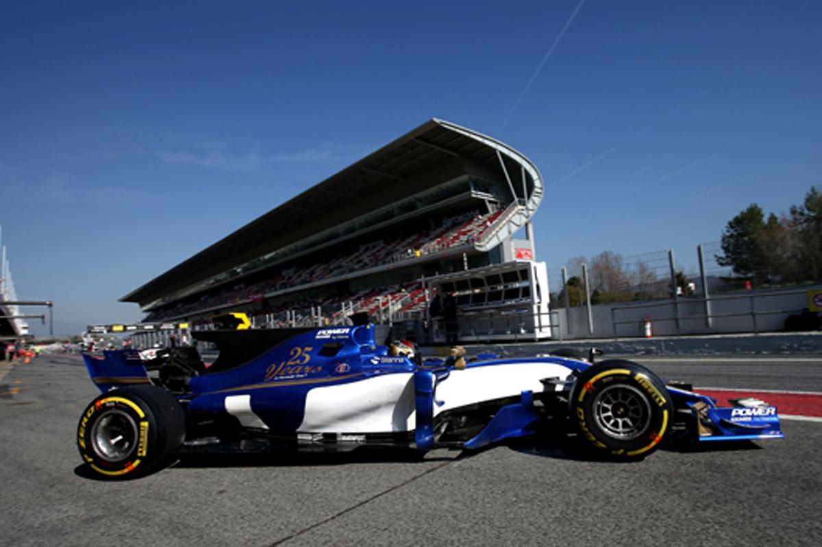 F1 バルセロナテスト パスカル・ウェーレイン