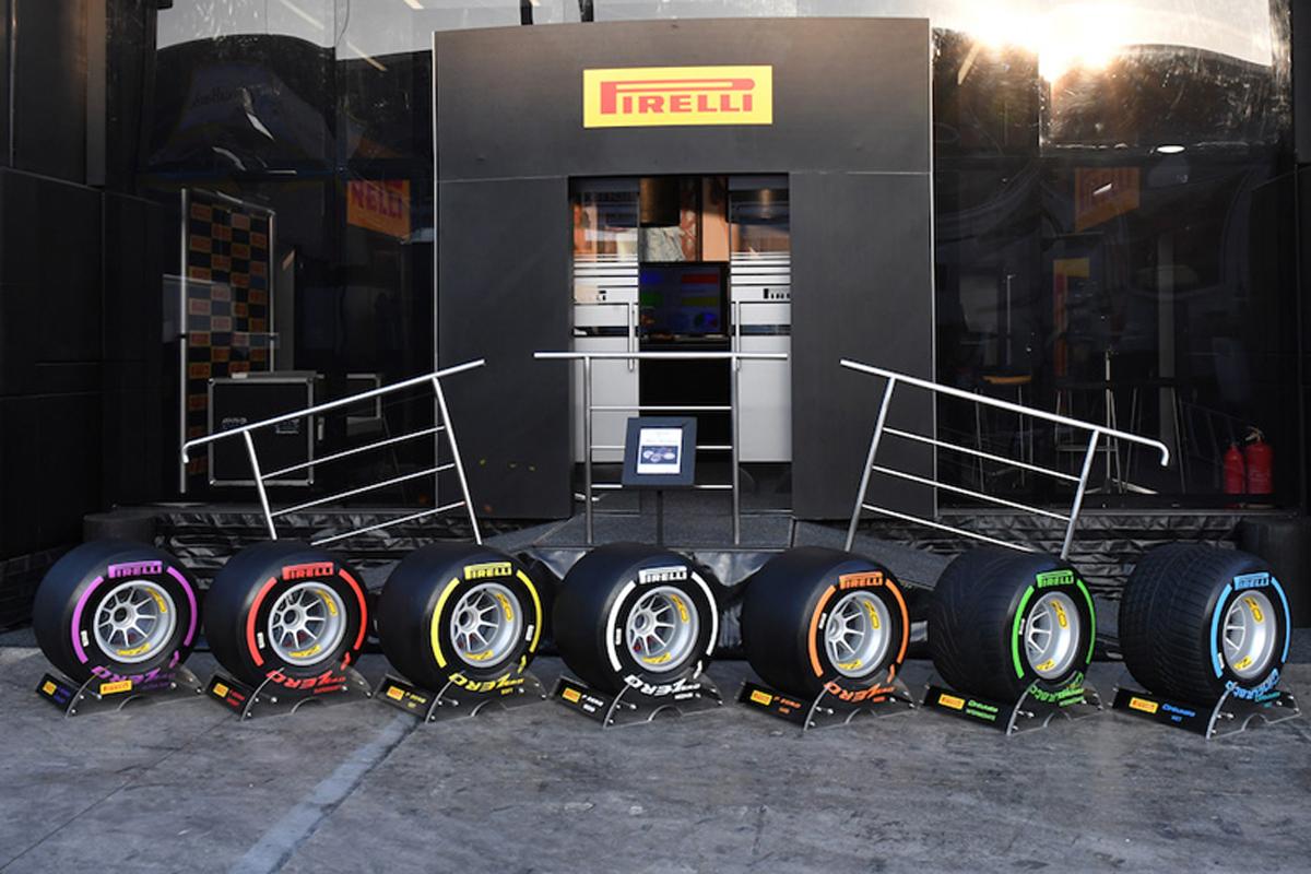 F1 タイヤ
