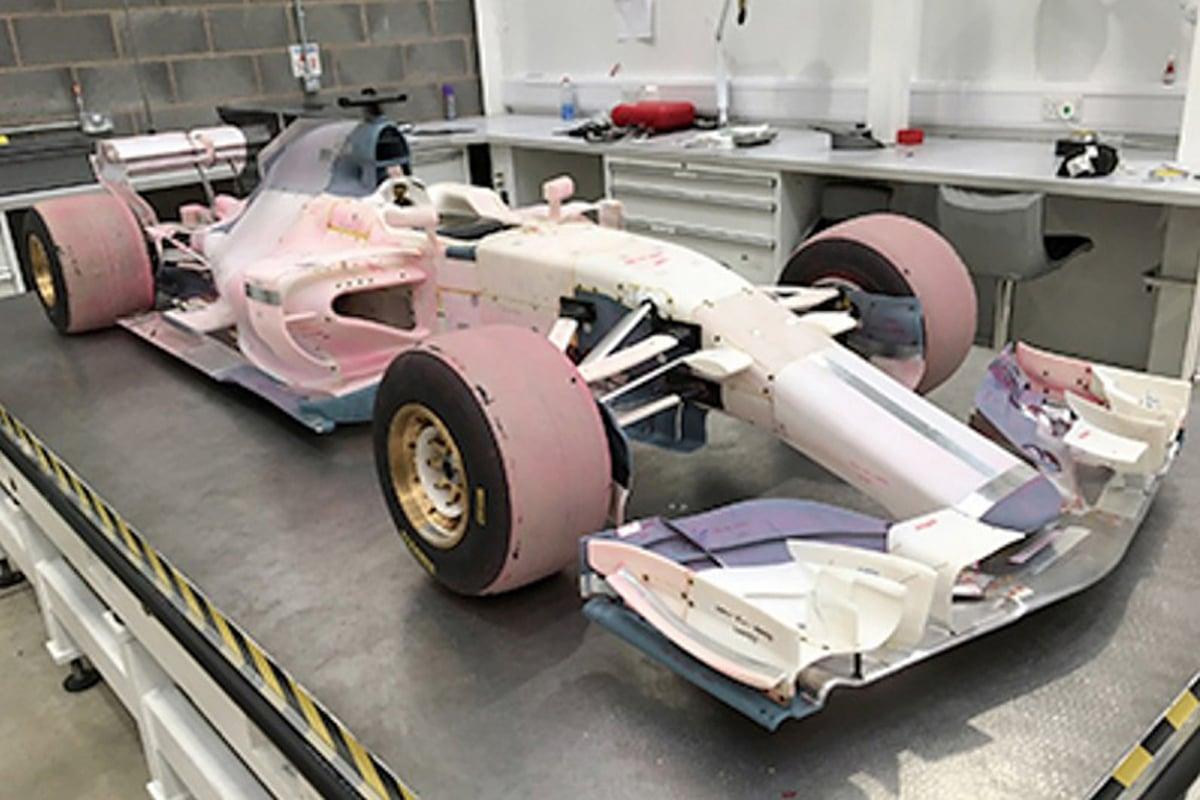 マノー 2017 F1マシン