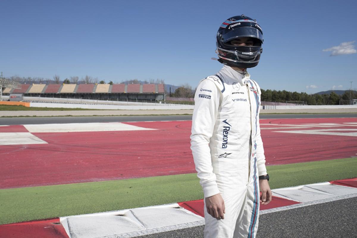 ランス・ストロール F1 ヘルメット